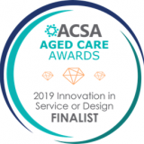 ACSA seal_FINALIST Innovation in Service or Design 2019