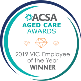 ACSA Seal WINNER Employee of the Year 2019