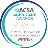 ACSA Seal WINNER Innovation in Service or Design 2019