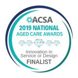 ACSA seal_NATIONA; FINALIST Innovation in Service or Design 2019